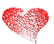 Transparent Heart of Hearts Free Clipart