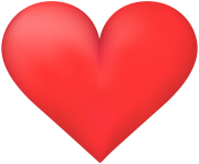 Clean Heart PNG Clip Art Image