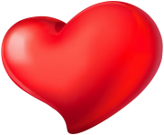 Heart Red Transparent PNG Clip Art Image