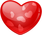 Heart With Hearts Png Clip Art Image