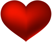 Red Heart Transparent PNG Clip Art Love