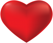 Red Heart Transparent Png Clip Art