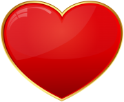 Red Heart Transparent Clip Art