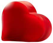 Red Heart Transparent Png Clip Art Image