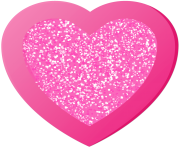 Pink Heart Decorative Clipart