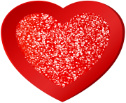 Red Heart Decorative Clipart