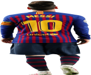 Lionel Messi PNG 2020 Barceloona Team