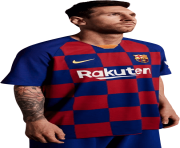 Lionel Messi FC Barcelona new jersey 2020