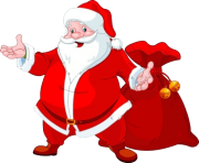 father christmas with gifts