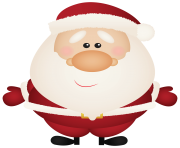 Santa Claus Cartoon PNG Clipar