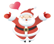 kris kringle santa in love